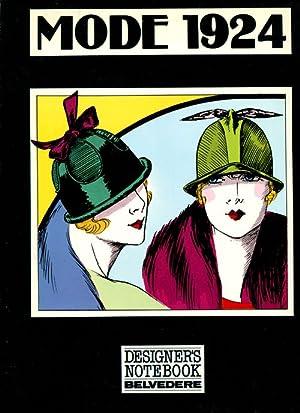 Mode 1924. Fashion Designs - Decorative Illustrations: Hageney, Wolfgang: