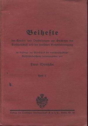 Die Breslauer Burschenschaft bis zum Ende der: Nicolai, Dr. Walter: