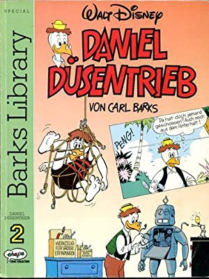 Daniel Düsentrieb von Carl Barks - Barks Library Nr. 2. EHAPA Comic Collection.