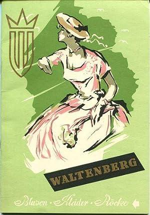 Waltenberg Blusen - Kleider - Rücke. Frühjahr: Waltenberg & Co.,