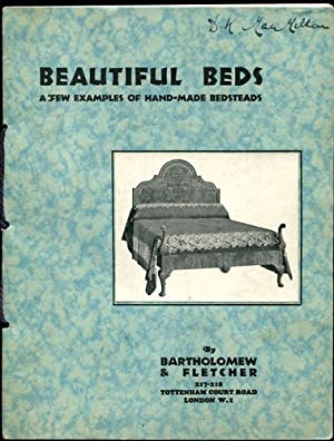Bartholomew & Fletcher - Beautiful Beds. A few examples of hand-made Bedsteads.
