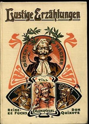 Lustige Erzählungen - Freiherr von Münchhausen /: Schanz, Frida (Hrsg.):