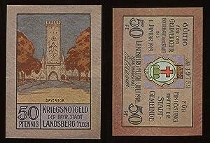 Kriegsnotgeld der bayr. Stadt Landsberg am Lech.: Notgeld: