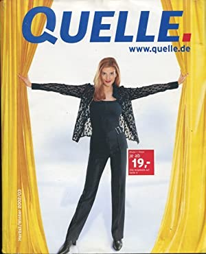 Quelle Katalog. Herbst - Winter 2002.