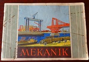 Die Mekanik-Metallbaukästen - Mekanik-Vorlagenbuch.: Mekanik (Hrsg.):