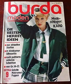 Burda moden erstausgabe