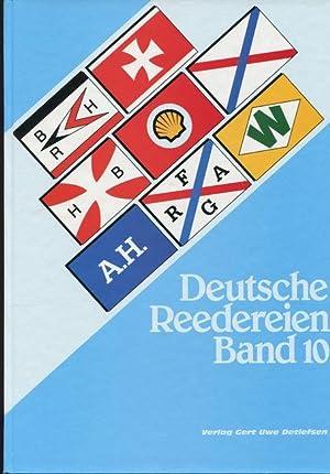 Deutsche Reedereien Band 10.: Detlefsen, Gert Uwe: