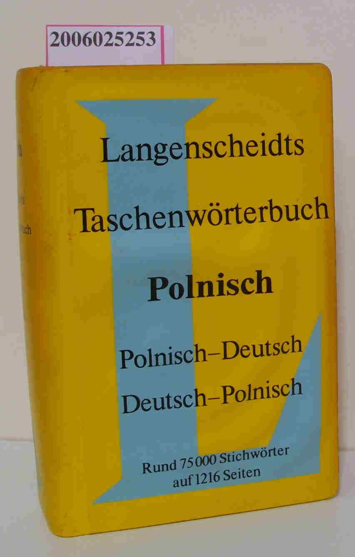 langenscheidts taschenwoerterbuch polnisch polnisch von. Black Bedroom Furniture Sets. Home Design Ideas