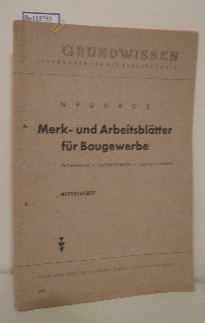 neuhaus - Iberlibro