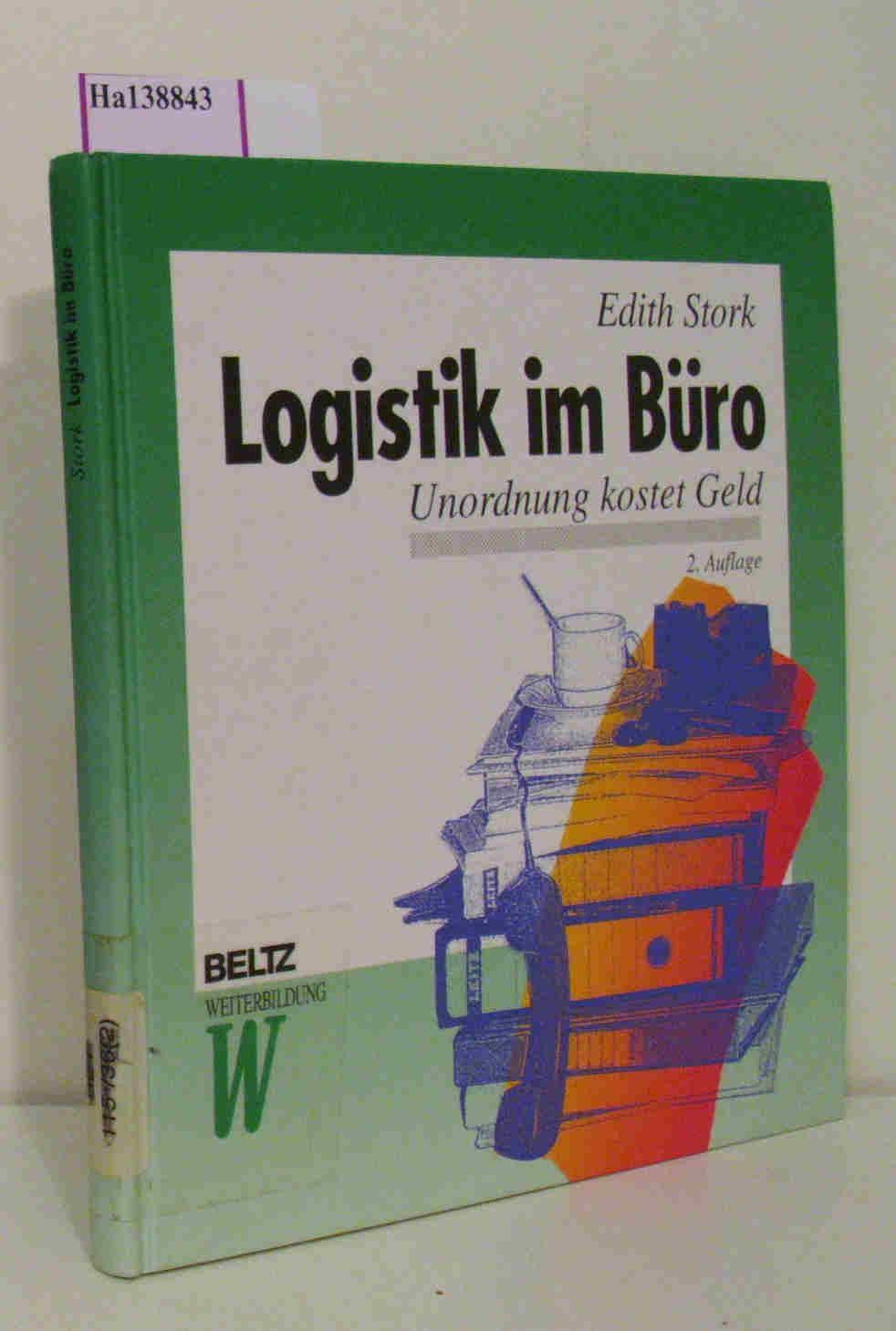 Logistik Im Buero Von Edith Stork Zvab