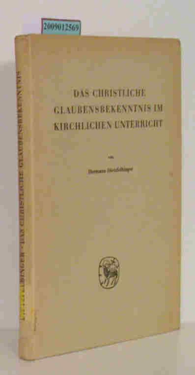 Christliche Glaubensbekenntnis