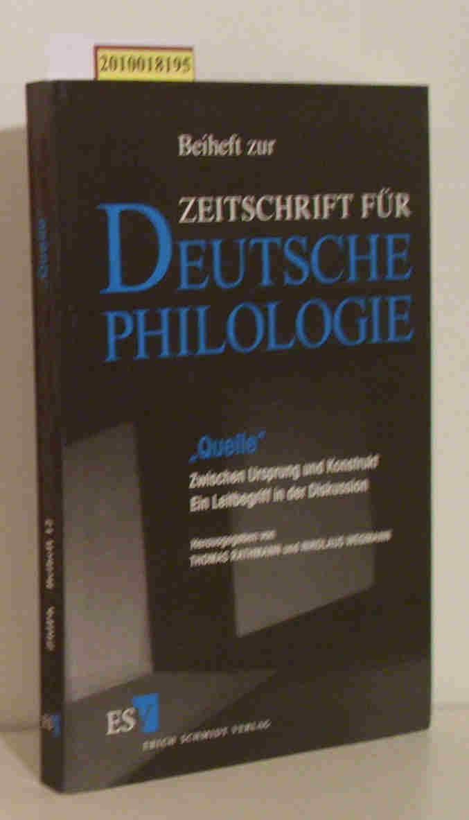 """Quelle"""". Zwischen Ursprung und Konstrukt: Thomas Rathmann, Nikolaus"""