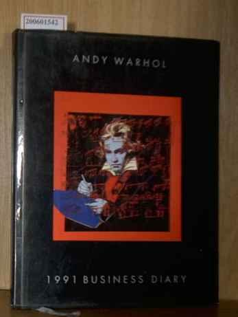 1991 Business Diary: Warhol, Andy: