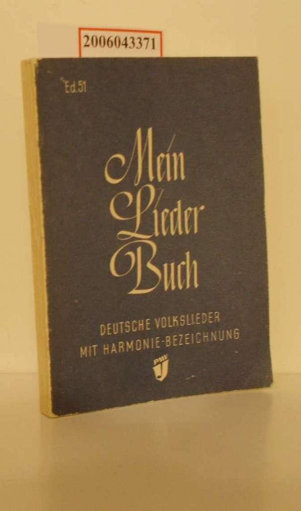 Mein Liederbuch : dt. Volkslieder aus 4: Kranz, Albert und