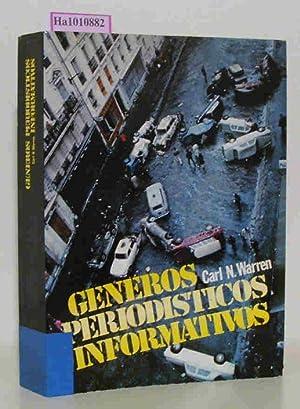Generos Periodisticos Informativos. Nueva enciclopedia de la noticia. (Coleccion ).: Warren, Carl N...