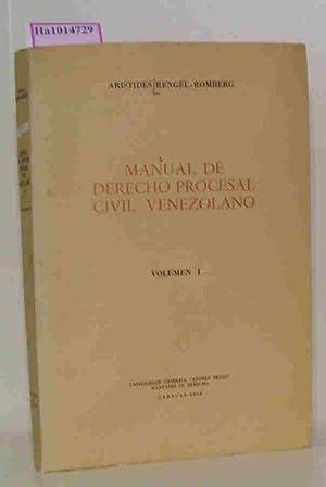 Manual de derecho procesal civil venezolano, Vol.: Rengel-Romberg, Aristides