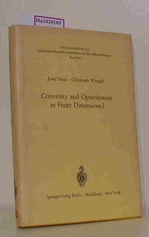 Convexity and Optimization in Finite Dimensions I. (=Die Grundlehren der mathematischen ...