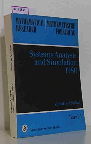 Systems Analysis and Simulation 1980. Proceedings of: Sydow, Achim (ed.)