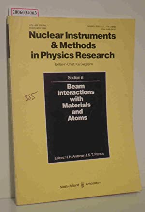 Nuclear Instruments & Methods in Physics Research: Kai Siegbahn