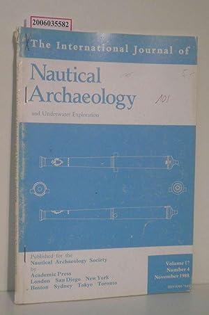 The International Journal of Nautical Archaeology and: Nautical Archaeology Society