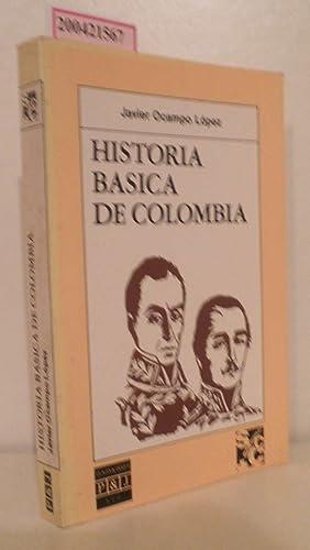 Hisoria Basica de Colombia: López, Javier Ocampo: