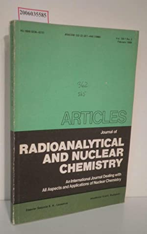 Journal of Radioanalytical and Nuclear Chemistry -: T. Braun :