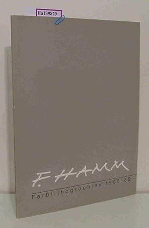 Falko Hamm. Farblithographien 1985- 89. [ Katalog