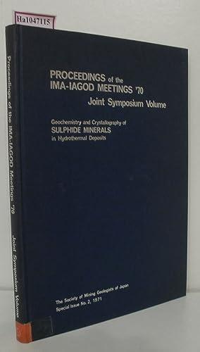 Joint Symposium Volume: IMA-IAGOD Meetings 70. International: Takeuchi, Y. et