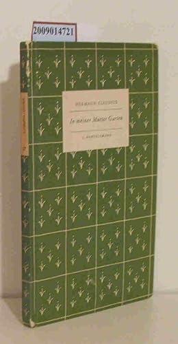 Hermann Claudius In Meiner Mutter Garten Abebooks