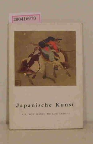 Japanische Kunst III Von Sesshu bis zum: Lemière, Alain: