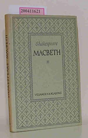 Macbeth mit Macbeth-Wörterbuch