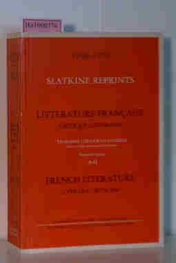 Literature Francaise Critique Litteraire. Troisieme Catalogue General.