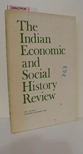 indian economic social history review - AbeBooks