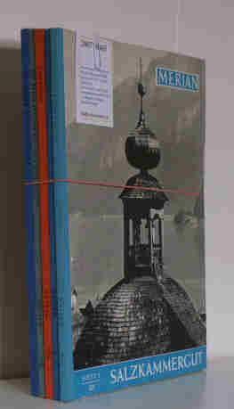 Merian Monartshefte/ 5 Ausgaben Salzkammergut Heft 5, XII, 1959 / Tessin Heft 5, XIII, ...