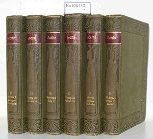 Goethes Werke unter Mitwirkung mehrerer Fachgelehrter herausgegeben von Prof.Dr. Karl Heinemann. ...
