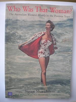 Who Was That Woman?: The Australian Women's: Susan Sheridan with
