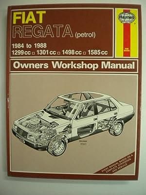 Fiat Regata Owners Workshop Manual - Haynes: Haynes, J. H.;