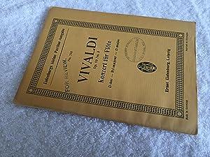 Konzert für Flöte - Op 10, No.: Antonio Vivaldi, Alfred