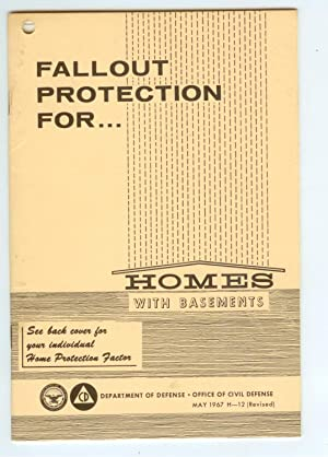 Fallout Protection for Homes with Basements May: Department Of Defense