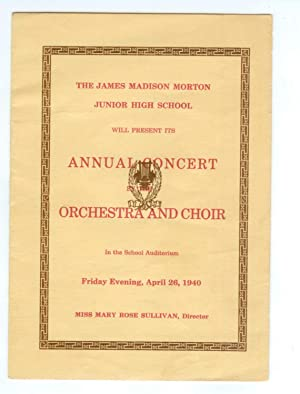 James Madison Morton Junior High School Annual: Miss Mary Rose