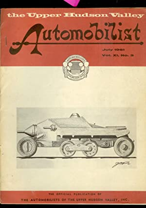 The Upper Hudson Valley Automobilist: July 1961: Keith Marvin/ Editor