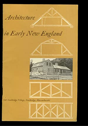 Architecture in Early New England: Abbott Lowell Cummings