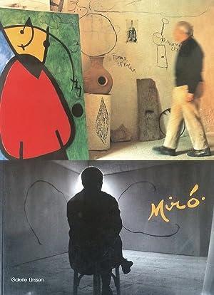 Joan Miro 1893-1983 Ölbilder, Aquarelle, Zeichnungen, Skulpturen,: Werner Linssen, Joan