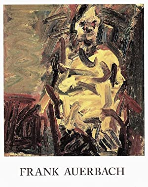 frank auerbach recent work november 14 december 16 1995