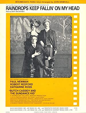 RAINDROPS KEEP FALLIN' ON MY HEAD (Sheet Music) from 'Butch Cassidy and The Sundance Kid'