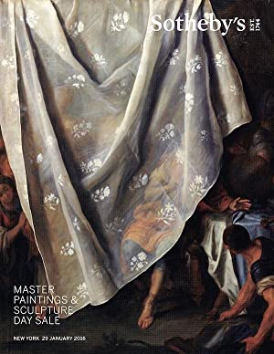 Master Paintings & Sculpture Day Sale - New York, 29 January 2016