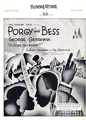 Summertime (Revised in A Minor) - from Porgy and Bess