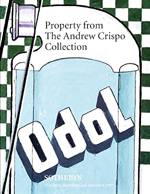 Property From the Andrew Crispo Collection, New York, November and December 1997