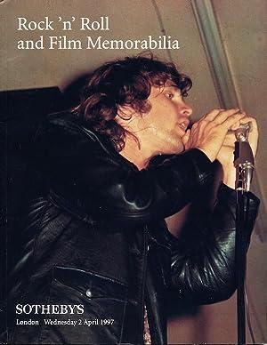 Rock 'n' Roll and Film Memorabilia, London