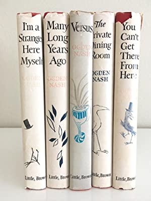 Ogden Nash: Five Volume set of humorous: Ogden Nash